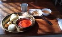 「チーズナンランチ(バターチキン) 600円」@asiandining&bar  khushiの写真