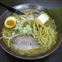 「味噌カリーバター麺 780円」@ラーメン道 徳治郎の写真
