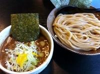 「つけ麺(並)+海苔増し+とろろ」@麺屋 たけ井 本店の写真