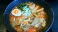 「カルビラーメン¥780+にんにく餃子¥320→¥0(モテコクーポ」@麺屋 ゴ→ゴ→ラ~メンの写真
