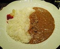 「いわしカレー(サラダ・デザート付) 1000円」@鮨処 やましちの写真