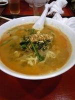 「担々麺」@中華料理店 精華 久我山店の写真