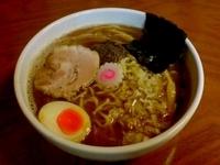 「煮干ラーメン 650円」@つけ麺 中華そば 佐とうの写真