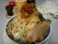 「にぼふじ麺 700円」@鶏とふじの写真