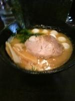 「醤油ラーメン+うずら卵+和粉」@ラーメン 西輝家の写真