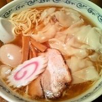 「ワンタンメン+味玉(800円+100円)」@二葉 天沼店の写真