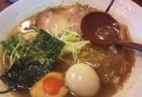 「らーめん(醤油)+味玉」@らーめん つけめん創房 一徹の写真