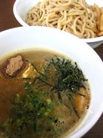 「≪気まぐれMenu≫ 鶏つけ麺¥750」@つけ麺 弥七の写真