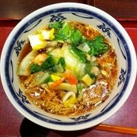 「たっぷり野菜の海鮮あんかけラーメン¥790」@ぼーの香 八幡東店の写真