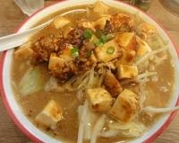 「マーボータンメン¥780大盛¥100麺カタメ・太麺」@わんたんめんの店 しお福の写真