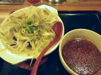 「水餃子入りネギ生姜煮込みラーメン ピリ辛つけ麺風」@和香佐の写真