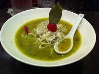 「バジルdeグリーン味噌」@麺 藏藏の写真