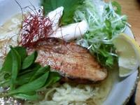 「冷塩麺/¥800-(暑い季節中? 限定)」@カフェバールナ 麺の部の写真