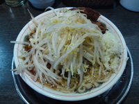 「ミニらーめん640円」@麺屋 婆娑羅の写真