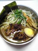 「豚ゴリラー麺¥800」@ラッキー食堂 まとやの写真