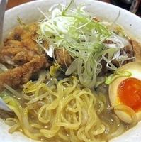 「ジーロウメン(塩) 700円」@玉子家らーめんの写真