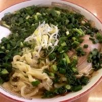 「青ねぎラーメン (醤油) 750円」@太七の写真