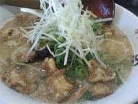 「油かすラーメン【1日10食限定】 750円」@たい風 本店の写真