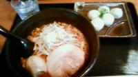 「レディース辛みそらーめん¥560+もっちもち水餃子¥300→¥0」@基乃の写真