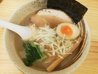 「和風 あっさり濃厚(しょうゆ、細麺)」@濃厚ラーメン じゅんの写真