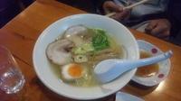 「塩ラーメン」@爆じゅう餃子 餃点の写真