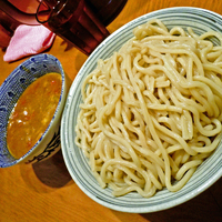 「カリートマトつけ麺(大盛り:330g) ¥880」@麺や百日紅の写真