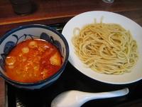 「辛しつけめん(中盛り450g・熱もり) 880円」@三ツ矢堂製麺 下北沢店の写真