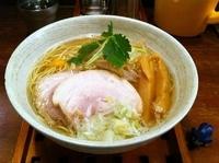 「煮干塩(にぼしお) 大盛り」@麺舎 ヒゲイヌの写真