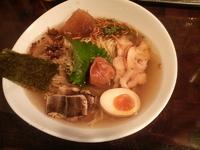 「[創作] 抹茶薫る 梅と鱧の冷しらぁ~麺」@麺や 庄のの写真