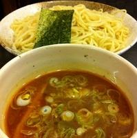 「辛味つけ麺 中盛(¥750)」@麺や 樽の写真