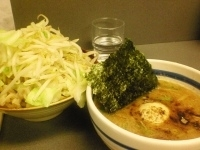 「つけめん(零式麺12)+味玉+濃度高め+やさい」@麺屋 零式本店の写真