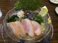 「冷製 煮干潮らぁめん ¥850」@煮干 丸めの写真
