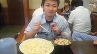 「肉汁うどん・大(温もり)1050円」@藤店うどん 大宮店の写真
