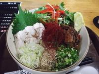 「冷塩麺 800円」@カフェバールナ 麺の部の写真