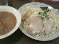 「辛味噌つけ麺(大盛りサービス)800円」@つけ麺 上々 木場店の写真