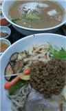 「ミルキー族の幻の華麗なる!つけ麺 「〆の割り飯(小・温泉玉子」@丸直の写真