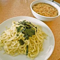 「納豆つけらーめん(麺少なめ) ¥800」@らーめん佐高の写真