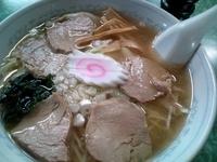 「チャシューワンタンメン(メニューのママ。値段失念)」@立田野食堂の写真