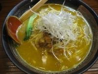 「ザ・プレミアム・カレーラーメン780円(ランチタイム価格)」@とんこつ麺道の写真