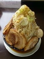 「野菜らーめん(大盛り)+野菜増し+チャーシュー+味玉」@麺屋 一心の写真