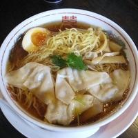 「醤油わんたん麺」@麺屋麦亭 神保町店の写真