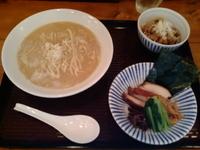 「鶏白湯麺(醤油)」@SOULMEN魂麺の写真