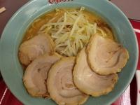 「味噌チャーシューメン¥860+半ライス(無料)」@くるまやラーメン 春日部16号店の写真