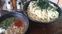 「極太魚介つけ麺¥800+特盛¥100」@らぁ麺三軒屋 岬本店の写真