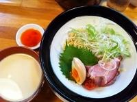 「【試作品】ゴールドの「つけ麺」??」@金久右衛門 梅田店の写真