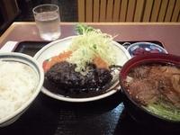 「味噌カツ定食(980円 エスカ40周年価格)」@きしめん亭 エスカ店の写真