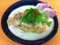 「欧風冷製ラーメン (850円)」@中村商店 茨木安威きんせいの写真