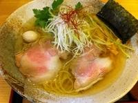「金の塩 夏バージョン (800円)」@彩色ラーメン きんせい 総本家 高槻栄町の写真