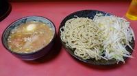 「つけ麺 普通(800円)+煮玉子(100円)ヤサイニンニク」@ラーメン二郎 歌舞伎町店の写真