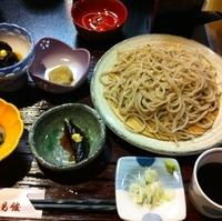 「ざる蕎麦(¥1,050)」@蕎麦処 瀧見館の写真